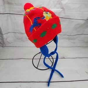 Vintage Toddler Pom Pom Carousel Hat